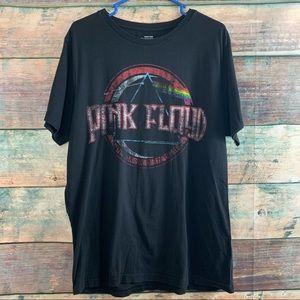 Sz XL Pink Floyd Black Aeropostale T Shirt